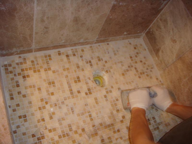 Awesome Bathroom Ceramic Tile Installation Illustration - Bathroom ...