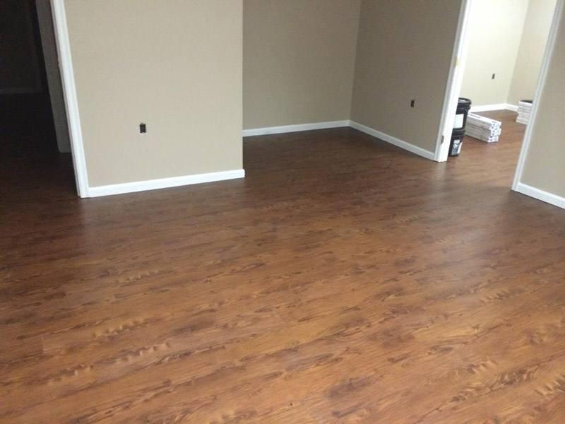 Commercial Floor Install 1