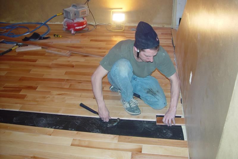 Hardwood Installation 002